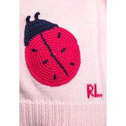 Polo Ralph Lauren LADYBUG Sweter hint of pink heather. Czerwone swetry klasyczne damskie Polo Ralph Lauren, z bawełny, polo. Za 399,00 zł.