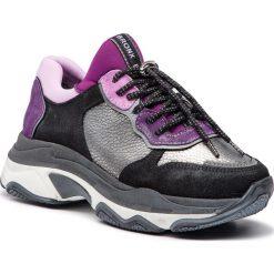 Sneakersy BRONX - 66167-HA BX 1525 Purple 81. Czarne sneakersy damskie marki Bronx, z materiału. W wyprzedaży za 419,00 zł.