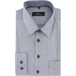 Koszula MICHELE 16-04-34-K. Niebieskie koszule męskie na spinki Giacomo Conti, na jesień, m, z bawełny, z klasycznym kołnierzykiem. Za 199,00 zł.