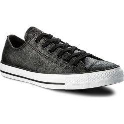 Tenisówki CONVERSE - Ctas Ox 157565C Black/Black/White. Czarne tenisówki męskie marki Converse, z materiału. W wyprzedaży za 249,00 zł.