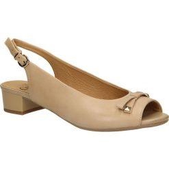 SANDAŁY CAPRICE 9-29403-2. Brązowe sandały damskie marki Caprice. Za 215,99 zł.