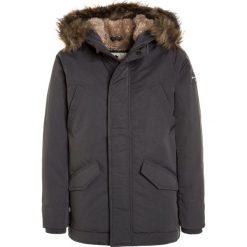 Abercrombie & Fitch CORE Płaszcz zimowy grey. Szare kurtki chłopięce zimowe Abercrombie & Fitch, z materiału. W wyprzedaży za 471,20 zł.