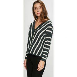 Only - Sweter. Szare swetry klasyczne damskie marki ONLY, s, z bawełny, z okrągłym kołnierzem. Za 149,90 zł.