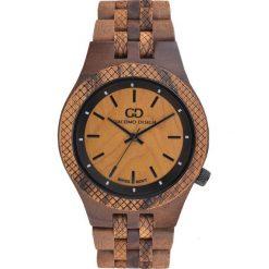 Zegarek Giacomo Design Drewniany męski GD08903. Brązowe zegarki męskie Giacomo Design. Za 429,00 zł.