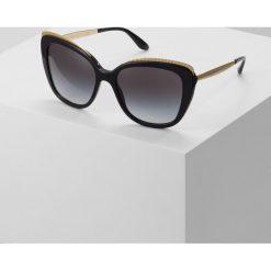 Dolce&Gabbana Okulary przeciwsłoneczne black. Czarne okulary przeciwsłoneczne damskie lenonki Dolce&Gabbana. Za 909,00 zł.