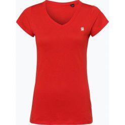 G-Star - T-shirt damski – Eyben, czerwony. Czerwone t-shirty damskie G-Star, l. Za 89,95 zł.