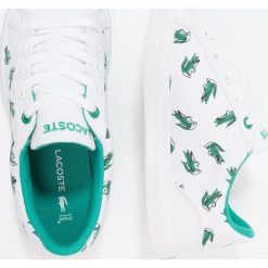 Trampki chłopięce: Lacoste LEROND Tenisówki i Trampki white/green