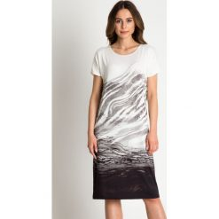 Sukienki: Prosta dzianinowa sukienka  BIALCON