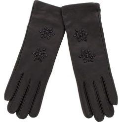 Rękawiczki Damskie TWINSET - Guanti OA8T5E  Nero 00006. Brązowe rękawiczki damskie marki Roeckl. Za 389,00 zł.