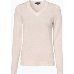 Franco Callegari - Damski sweter z wełny merino, beżowy. Brązowe swetry klasyczne damskie Franco Callegari, l, z dzianiny. Za 229,95 zł.