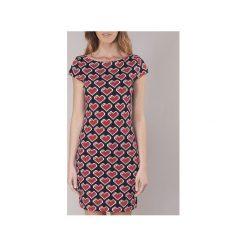 Sukienki krótkie Love Moschino  W5A1700. Sukienki małe czarne marki Love Moschino, z krótkim rękawem. Za 475,30 zł.