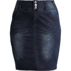 Spódniczki ołówkowe: ADIA Spódnica ołówkowa  blue sandblast