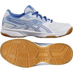 Asics Buty damskie Upcourt 2 białe r. 39 1/2  (B755Y 0140). Białe buty sportowe męskie marki Asics. Za 195,80 zł.