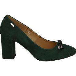Czółenka - 2132-2 CAM VE. Szare buty ślubne damskie Venezia, ze skóry. Za 219,00 zł.