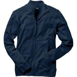 Bluza rozpinana bonprix ciemnoniebieski. Niebieskie bejsbolówki męskie bonprix, l, z dresówki. Za 74,99 zł.