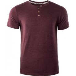 T-shirty męskie: IGUANA T-shirt męski Enitan zinfandel melange r. S