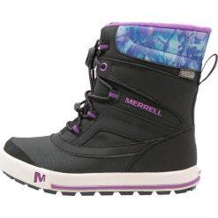 Merrell SNOWBANK 2.0 WTPF Śniegowce black/berry. Buty zimowe damskie marki Merrell. W wyprzedaży za 185,40 zł.