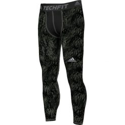 Bielizna męska: Adidas Legginsy Techfit Base Shards Graphic zielone r. L (S94430)