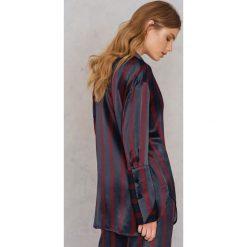 Koszule wiązane damskie: By Malene Birger Koszula Fridari – Red,Blue,Multicolor,Navy