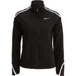 Nike Performance IMPOSSIBLY LIGHT  Kurtka do biegania black/white/reflective silver. Brązowe kurtki sportowe damskie marki N/A, w kolorowe wzory. W wyprzedaży za 208,45 zł.