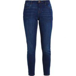 Dorothy Perkins HARPER Jeansy Slim Fit indigo. Niebieskie jeansy damskie marki Dorothy Perkins, z bawełny. Za 139,00 zł.