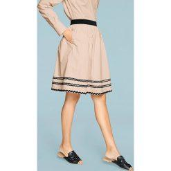 Odzież damska: Spódnica w kolorze beżowym