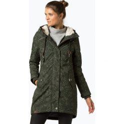 Ragwear - Parka damska – Tawny Camo, zielony. Zielone parki damskie marki Ragwear, l, moro. Za 659,95 zł.