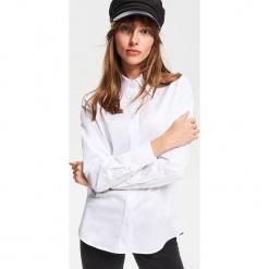 Koszula z ozdobnymi guzikami - Biały. Białe koszule damskie marki Adidas, m. Za 119,99 zł.