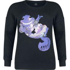 Bluzy rozpinane damskie: Alicja w Krainie Czarów Cheshire Cat Galaxy Bluza damska czarny
