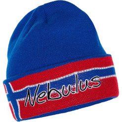 """Czapka """"Harvey"""" w kolorze niebiesko-czerwonym. Czerwone czapki męskie Nebulus, z dzianiny. W wyprzedaży za 86,95 zł."""