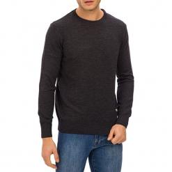 Sweter w kolorze antracytowym. Szare swetry klasyczne męskie GALVANNI, l, z okrągłym kołnierzem. W wyprzedaży za 229,95 zł.