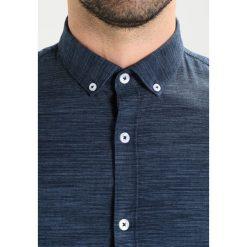 Koszule męskie na spinki: Lindbergh SPACE DYED Koszula blue
