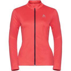 Odlo Bluza tech. Odlo Midlayer full zip KOYA LIGHT       - 541631 - 541631/30380/S. Różowe bluzy sportowe damskie Odlo, s. Za 156,14 zł.