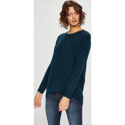 Medicine - Sweter Basic. Szare swetry klasyczne damskie marki MEDICINE, l, z dzianiny, z okrągłym kołnierzem. Za 99,90 zł.