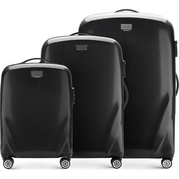 2e46bd78ffcd9 Czarne walizki - Promocja. Nawet -70%! - Kolekcja lato 2019 - myBaze.com