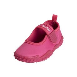 Playshoes  Buty do wody Aqua + UV50+ różowy - różowy/pink. Czerwone buciki niemowlęce chłopięce Playshoes, z elastanu. Za 59,00 zł.
