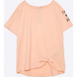 Bluzki dziewczęce bawełniane: Name it - Top dziecięcy Kink 122-164 cm