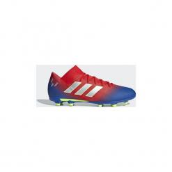 Buty do piłki nożnej adidas  Buty Nemeziz Messi 18.3 FG. Czerwone halówki męskie Adidas, do piłki nożnej. Za 379,00 zł.