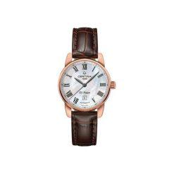 PROMOCJA ZEGAREK CERTINA DS Podium Lady Automatic. Białe zegarki damskie CERTINA, ze stali. W wyprzedaży za 2411,20 zł.