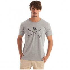 Polo Club C.H..A T-Shirt Męski M Szary. Szare koszulki polo marki Polo Club C.H..A, m, z bawełny. W wyprzedaży za 119,00 zł.