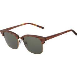 Kerbholz ALBERT Okulary przeciwsłoneczne rosewood/solid green. Brązowe okulary przeciwsłoneczne damskie aviatory Kerbholz. Za 659,00 zł.