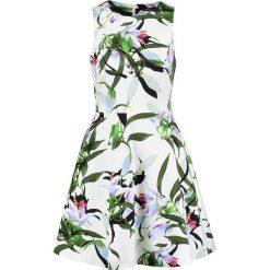 Sukienki hiszpanki: Karen Millen TROPICAL Sukienka letnia white/multi