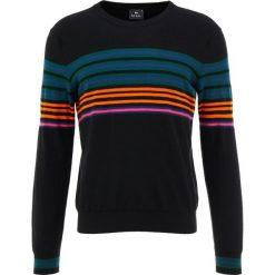 PS by Paul Smith MENS CREW NECK Sweter black. Czarne swetry klasyczne męskie PS by Paul Smith, m, z bawełny. Za 799,00 zł.