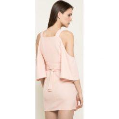 Missguided - Sukienka. Szare sukienki mini marki Missguided, na co dzień, z elastanu, casualowe. W wyprzedaży za 99,90 zł.