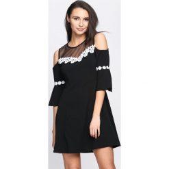 Sukienki: Czarna Sukienka Margarita
