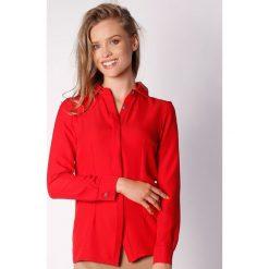 Koszule wiązane damskie: Koszula w kolorze czerwonym