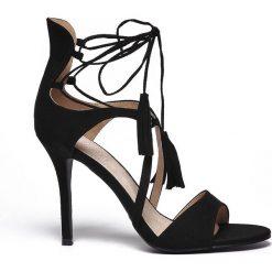 Sandały damskie: SANDAŁY DAMSKIE NA OBCASIE