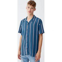 Odzież: Koszula z krótkim rękawem w paski