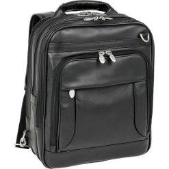 "Plecak MCKLEIN Plecak męski, skórzany na laptopa Lincoln Park, czarny 15,6"". Czarne plecaki męskie Mcklein. Za 1072,56 zł."