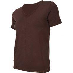 Brubeck Koszulka damska z krótkim rękawem Comfort Night brązowa r. XL (SS11790). Brązowe topy sportowe damskie Brubeck, xl, z krótkim rękawem. Za 99,99 zł.